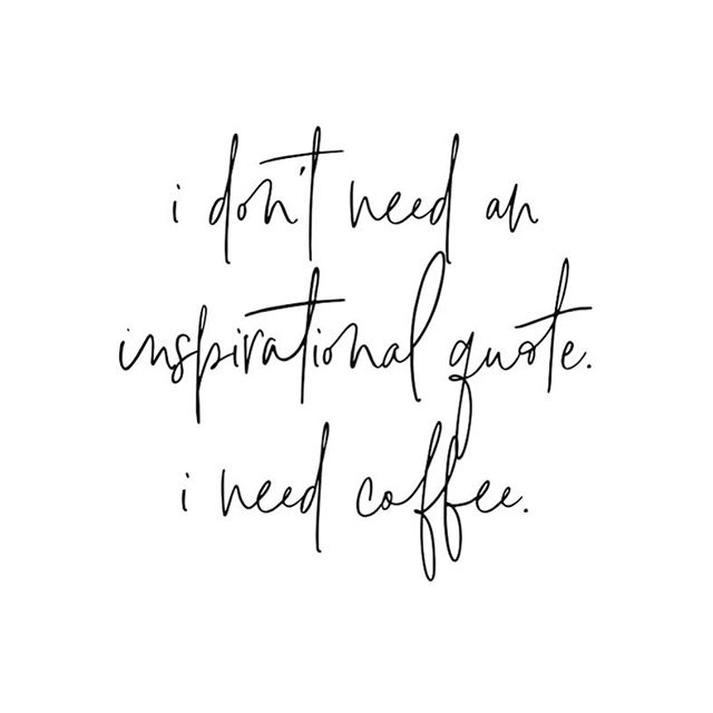 For real, tho ☕️❤️ #liquidmotivation #gimmeallthecoffee #socialgracesmedia