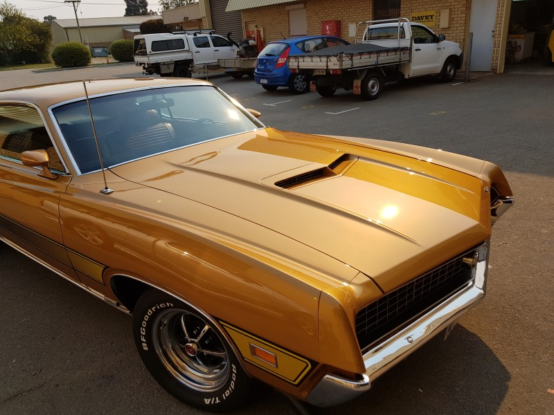 73 ford torino finished restoration