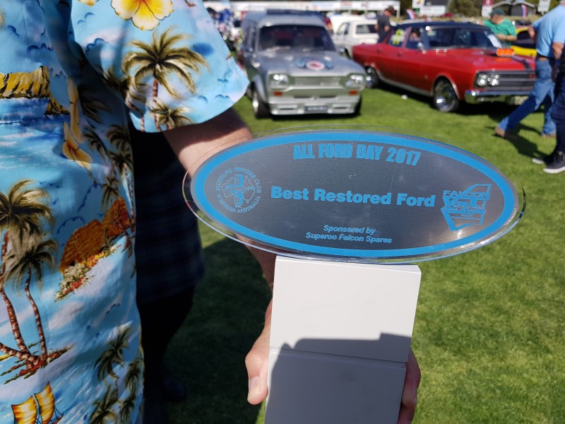 2017 winner best restored ford