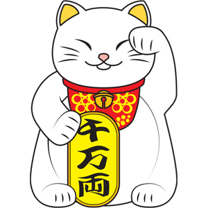 NMR Lucky Cat