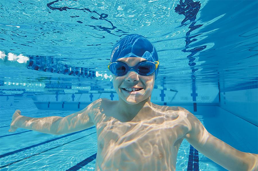 Swim like a fish - natural talent