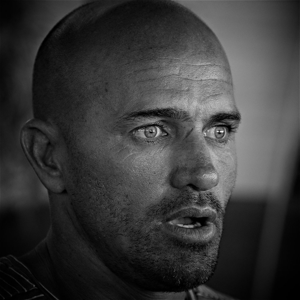 Kelly Slater, photographed by Ted Grambeau