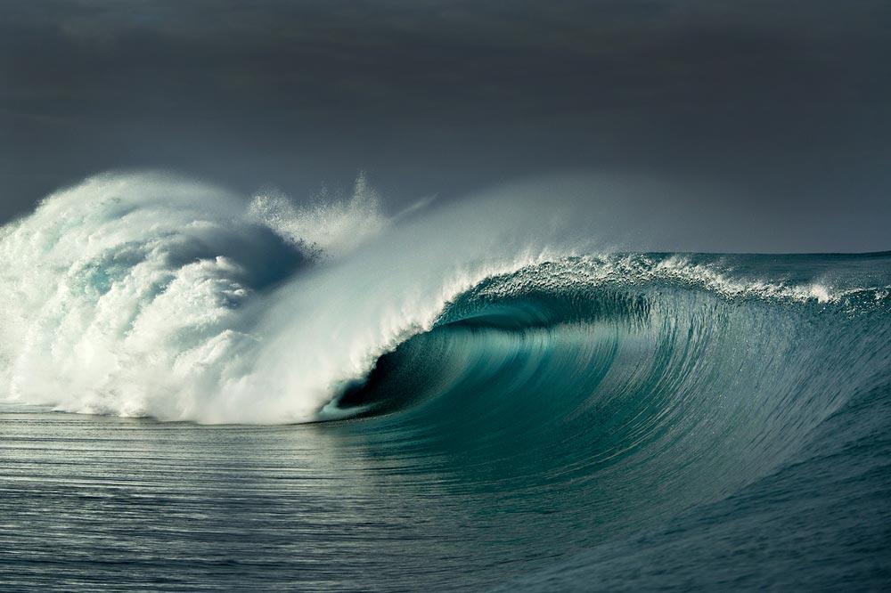 Teahupoo Surf Portrait