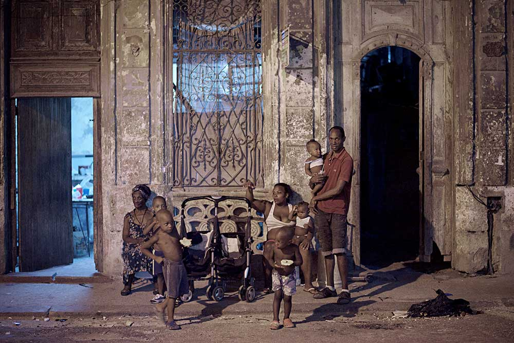 Cuba #17 When time stands still -Centro Habana, Cuba Copyright © Ted Grambeau 2017
