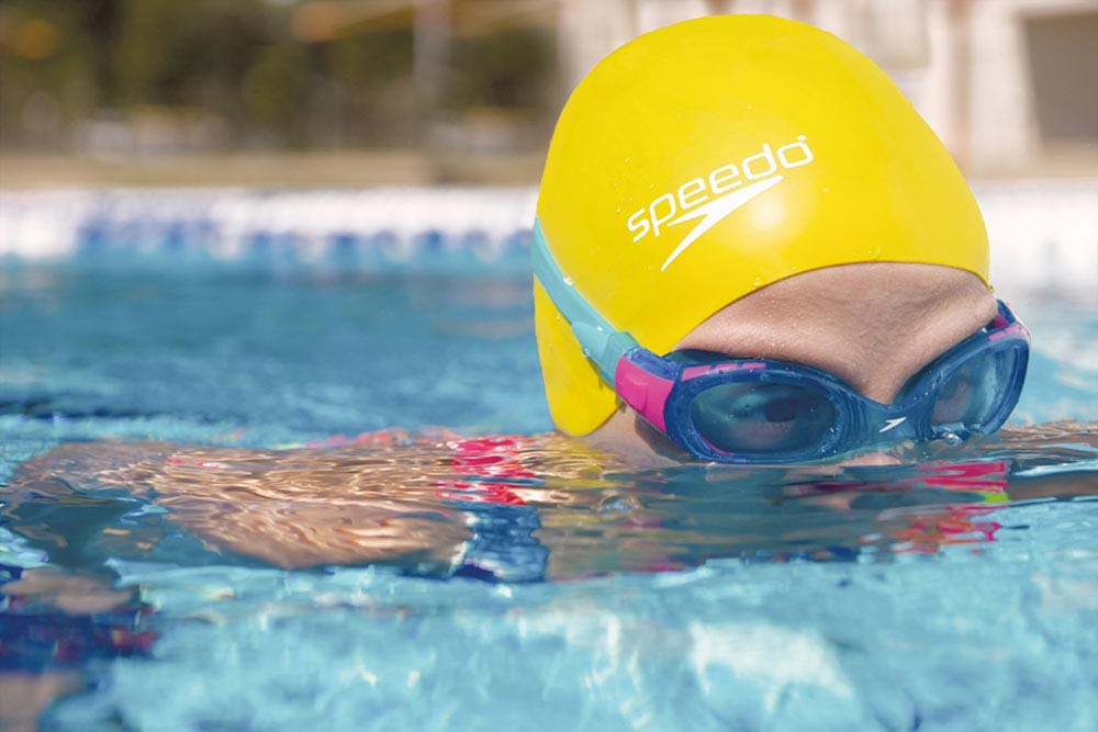 Speedo Swim Cap and Goggles