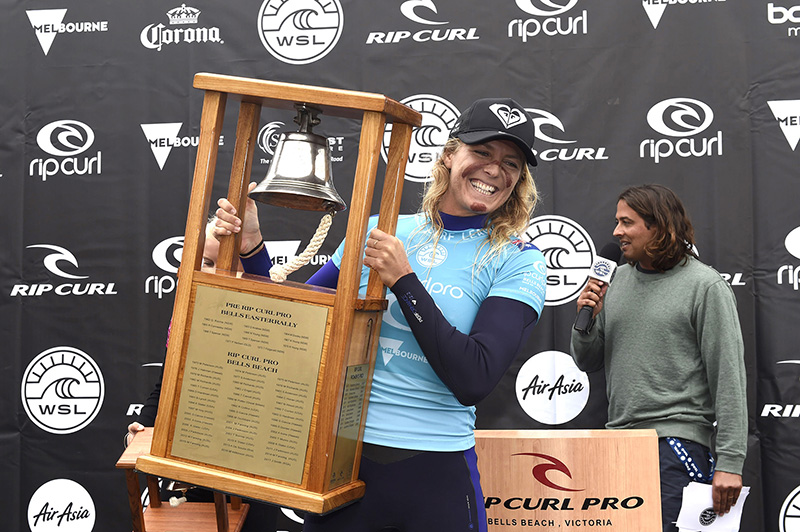 2018 Rip Curl Pro Bells Womens Champion Stephanie Gilmore