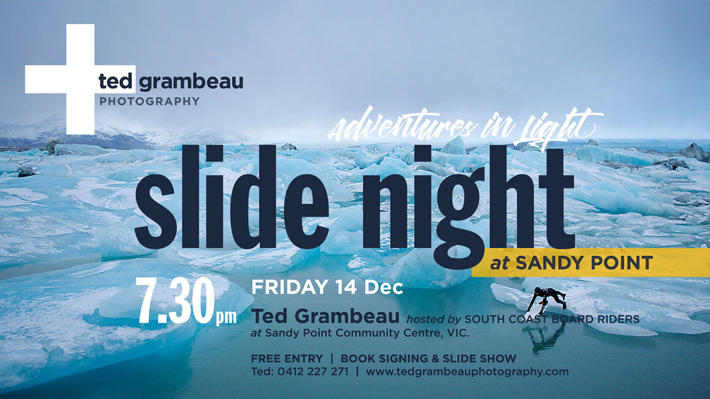 Facebook Event Slide Night Ted Grambeau