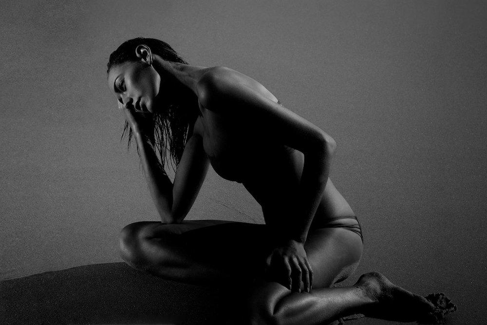 Fashion Swimwear model Tahalia Savage in Mikoh