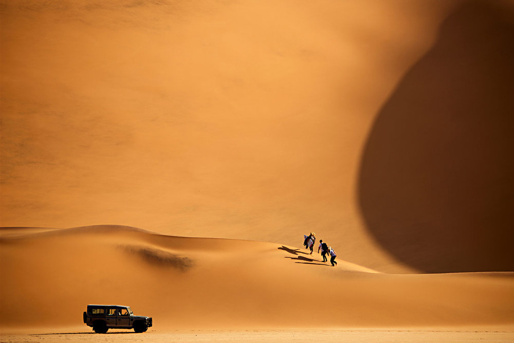 mad max territory in namibia with crew from Rip Curl's 'the search' campaign