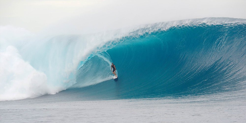 Australian Surfer making history – Laurie Towner.