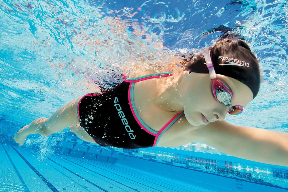 Underwater Swimwear Commercial Photography + SPEEDO + Swimwear model: Sahara