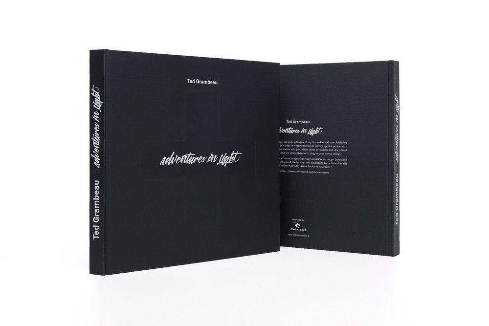 Surf Photography Book 'Adventures in Light' by Ted Grambeau