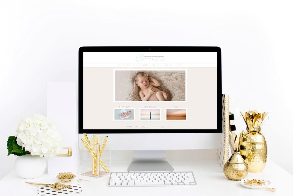 Pure Design Co :: Channon Williamson :: Website