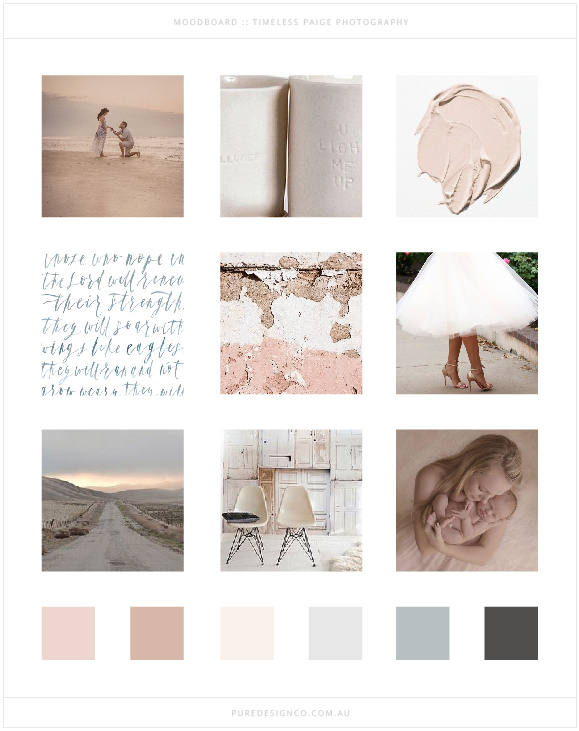 Pure Design Co_Timeless Paige_Moodboard