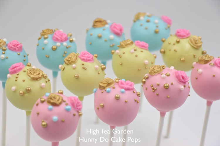 High Tea Garden Cake Pops Hunny Do Cake Pops