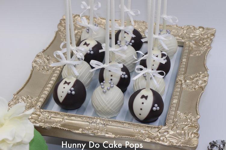 Wedding Collection Cake Pops — Hunny Do Cake Pops