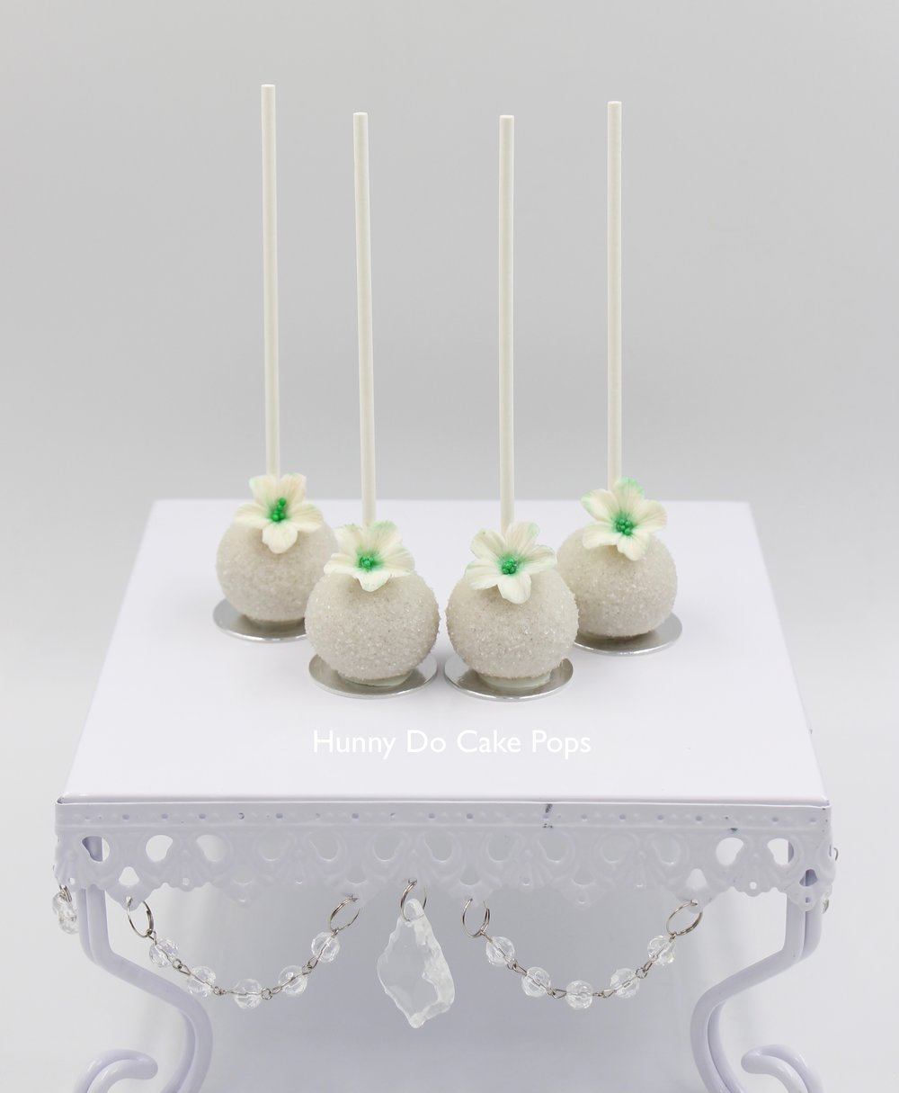 Green flower wedding cake pops HunnyDo 2.jpg