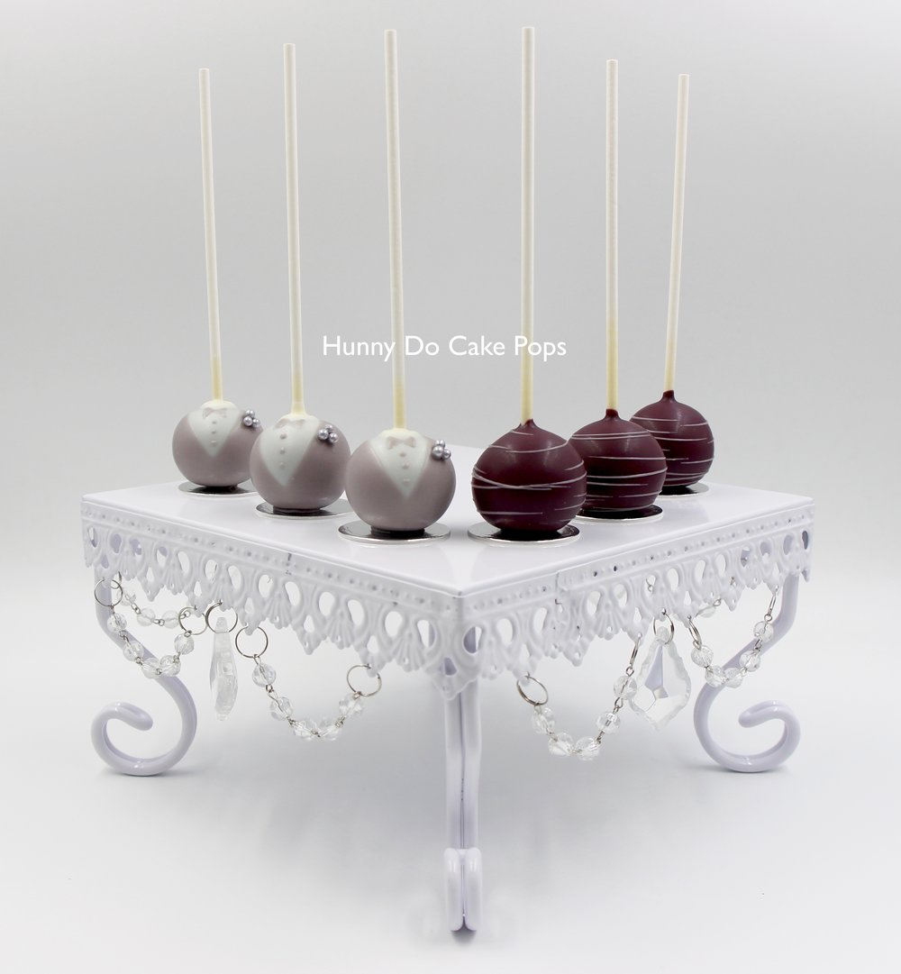 Plum Bride n Groom cake pops HunnyDo.jpg