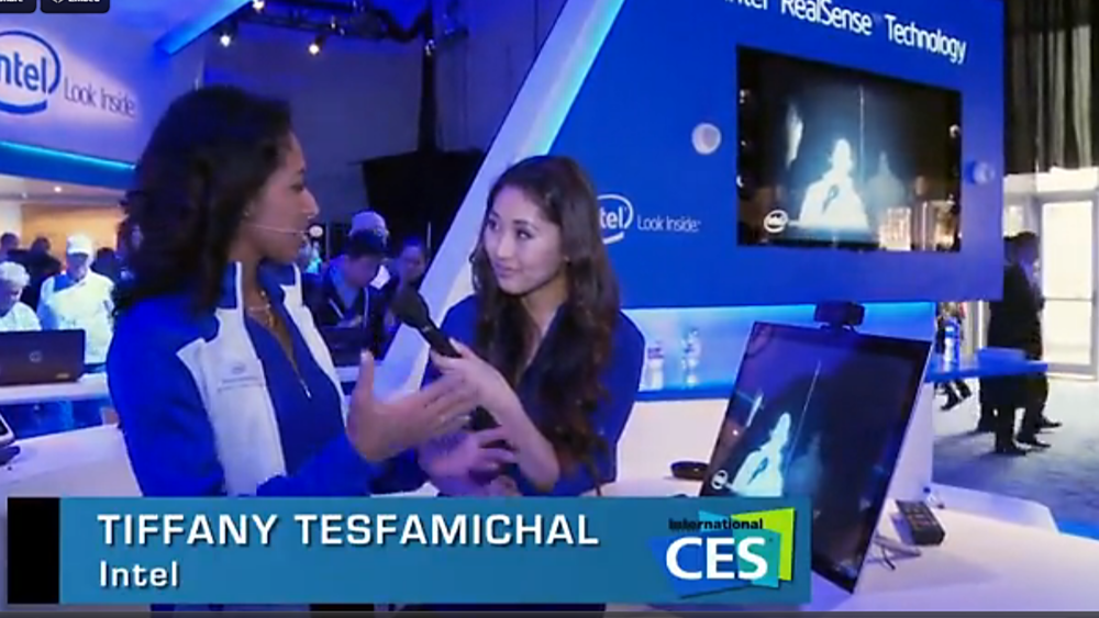 Intel RealSense Technology Brand Launch at CES 2014