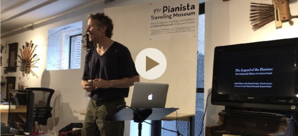 Michael Frassinelli, Pianista Lecture, May 26th, 2018
