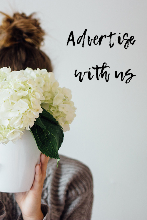 Advertise With Us on the blog sidebar