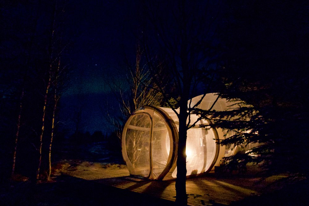 Northern Lights Bubble
