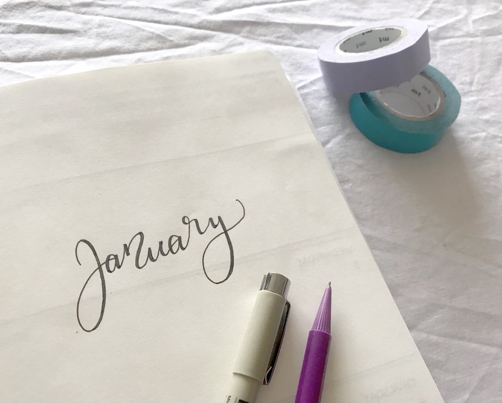 bullet journal diary