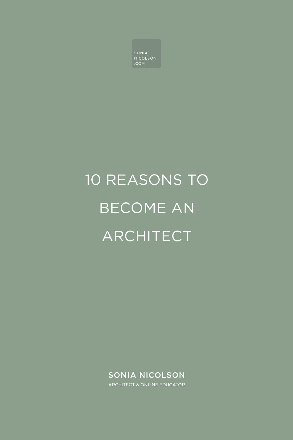 10 Reasons To Become An Architect Layoutlines By Sonia