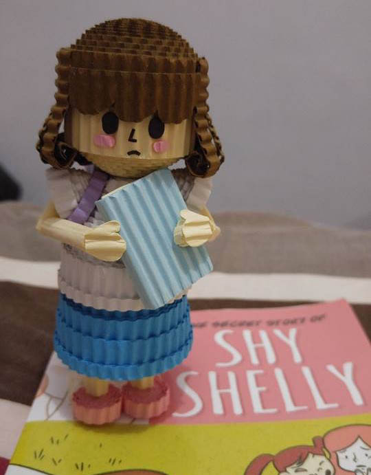 Yup. She made me a Shy Shelly kokoru!