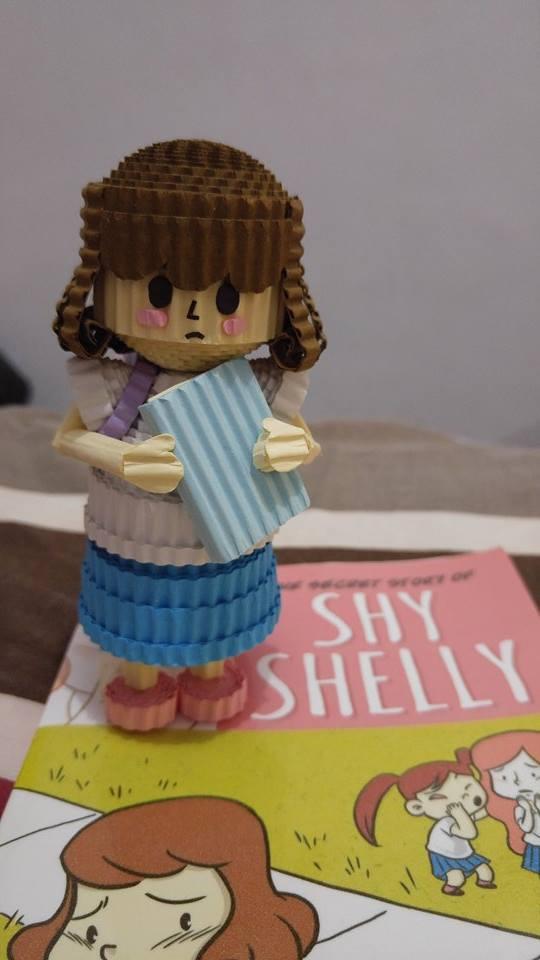 Voila! Shy Shelly kokoru!
