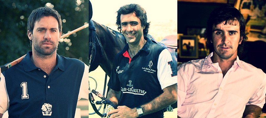 Facundo Pieres, Juan Martín Nero & Pablo Mac Donough are all 10-goalers