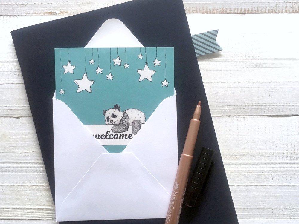 Pocket Klappkarten - 10 x 10 cm | blanko Innenseiten | 100% Umweltpapier