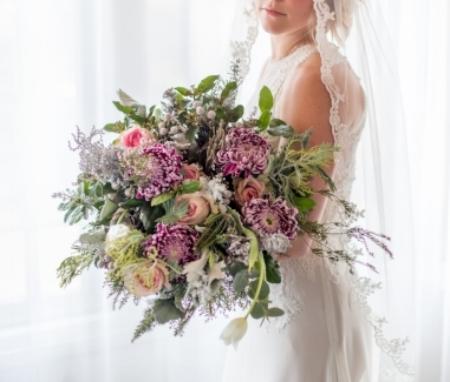 Winters bruidsboeket