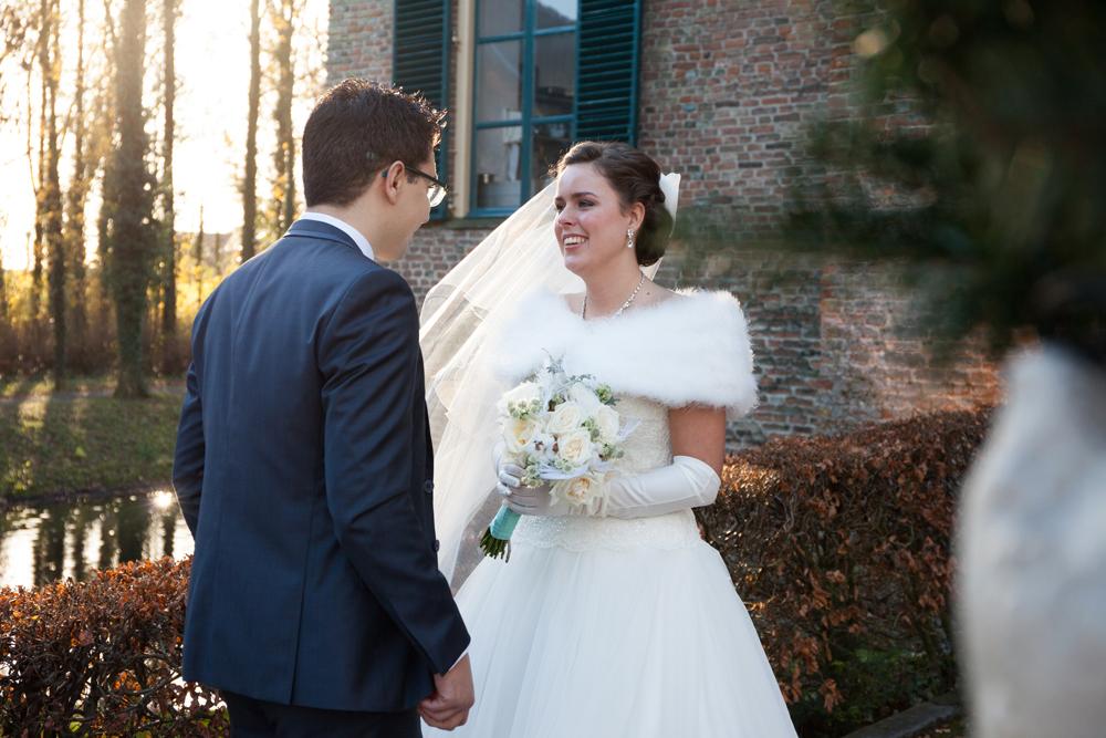 Bruidsboeket biedenmijer