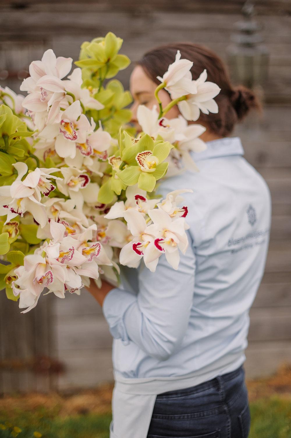 Schitterende Cymbidium orchideeën - perfect voor jullie bruiloft.