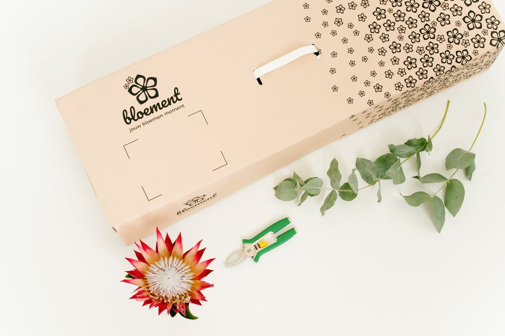 bloemen online bestellen en bezorgen in een bloemenbox