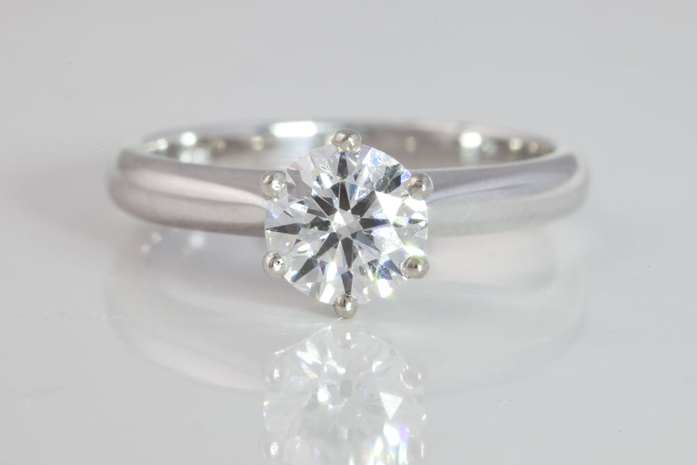 Traditional Solitaire Diamond Ring