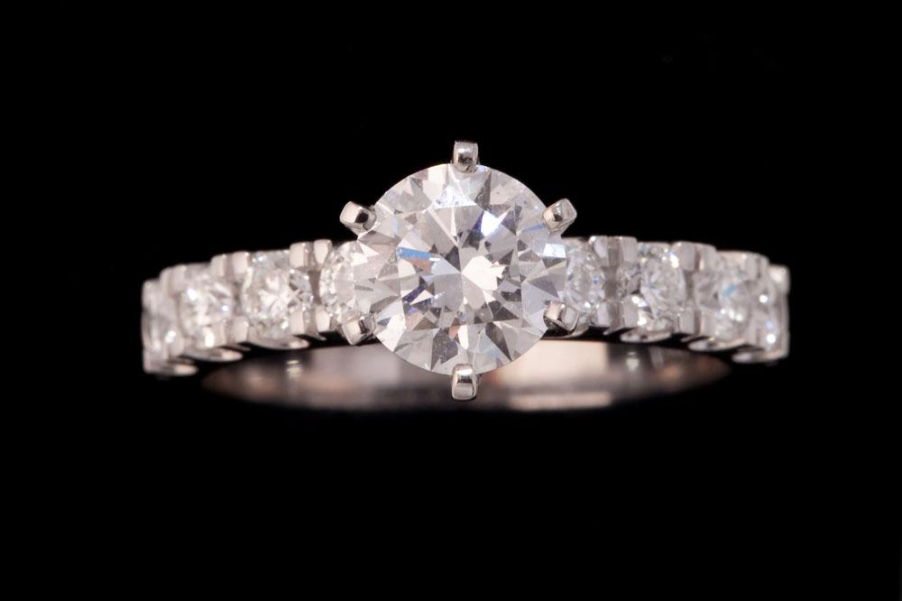 Multi Stone Round Diamond Ring