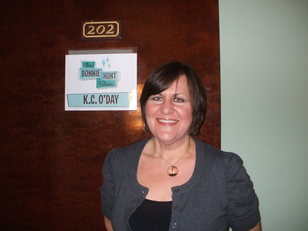 My dressing room at the (now defunct) Bonnie Hunt Show in California...I was terrified that I looked too fat.