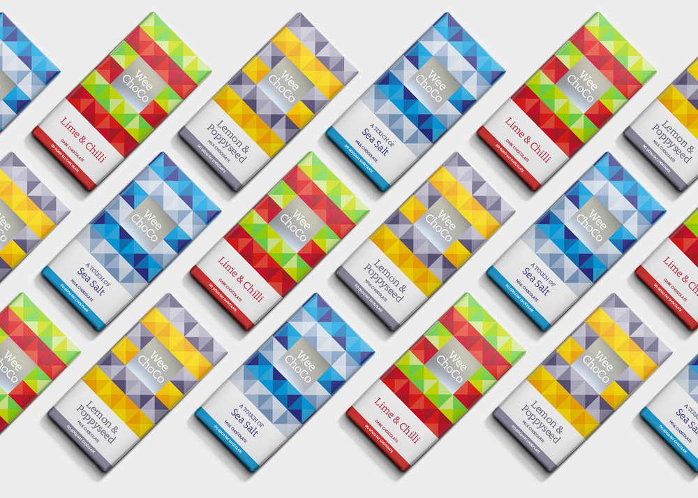 The new choc on the block – Brand and Packaging Design – WeeChoco