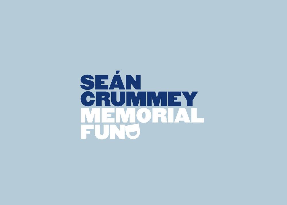 Seán Crummey Memorial Fund Brand Design