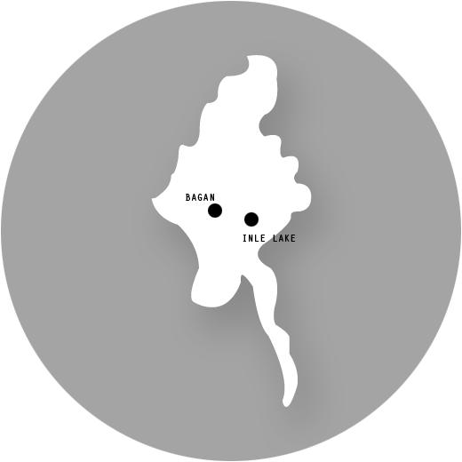 Bagan, Inle Lake