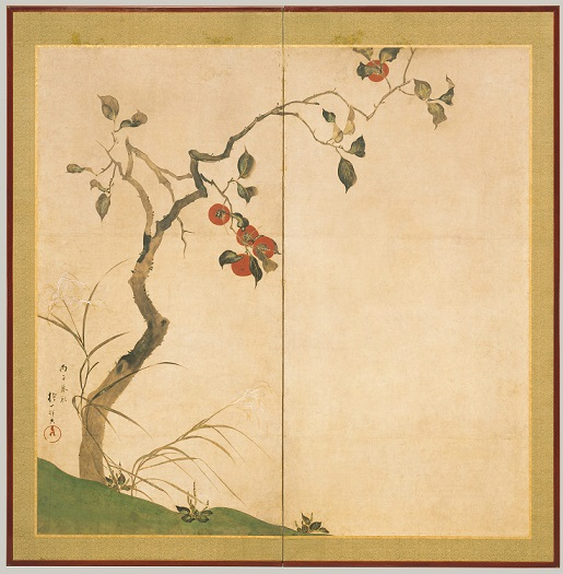 AUTUMN:SPACE-TIME CONTINUUM - Art by:Sakai Hōitsu (Japanese, 1761–1828)