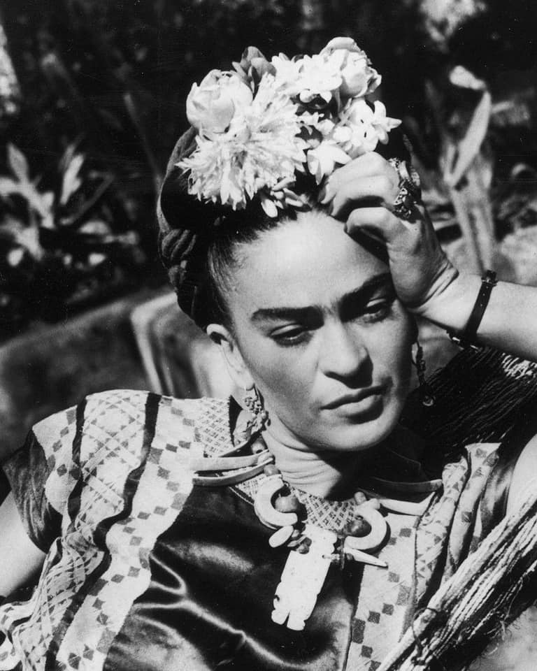 """I drank to drown my sorrows, but the bastards learned how to swim.""—FRIDA KAHLO -"