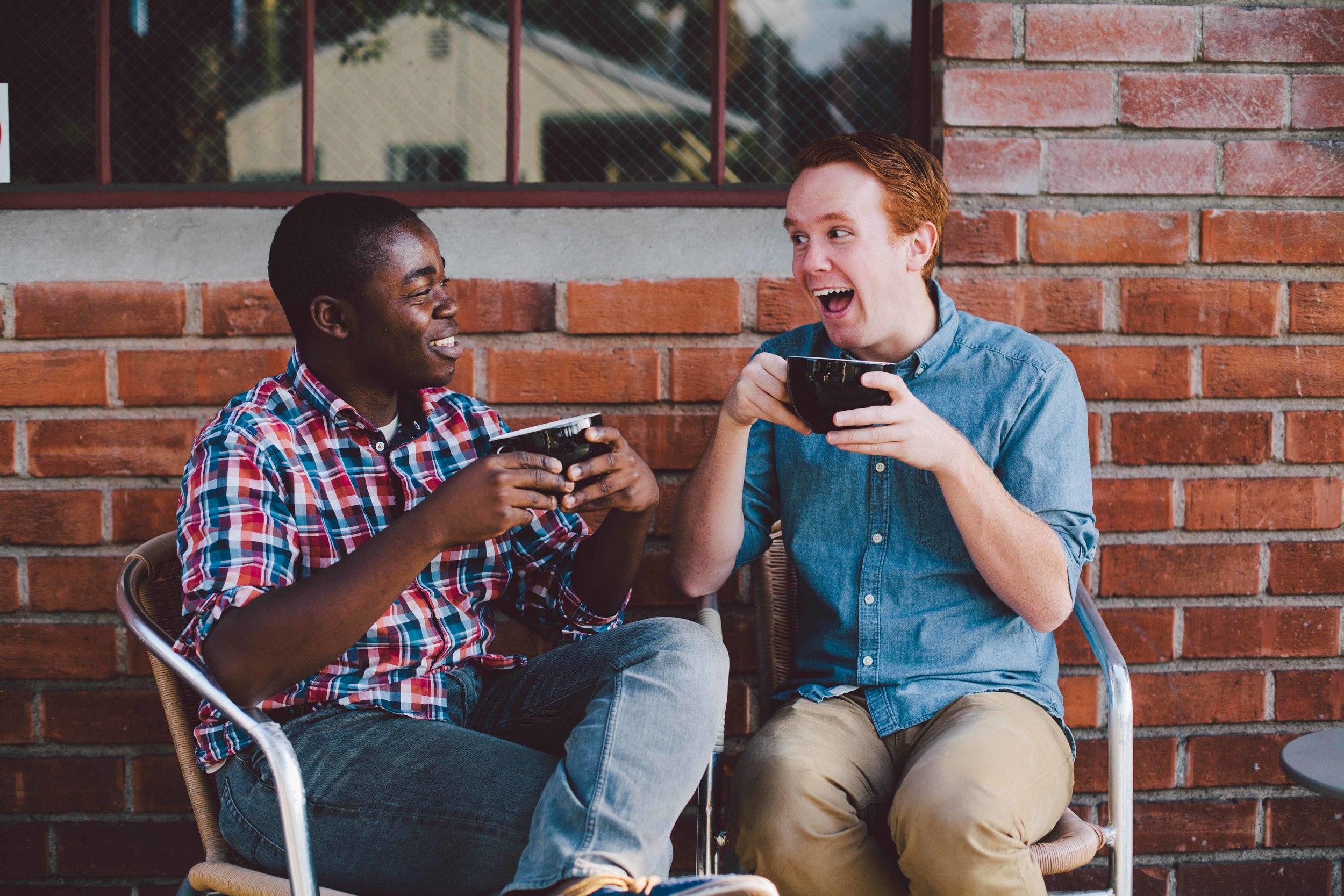 guys meeting guys
