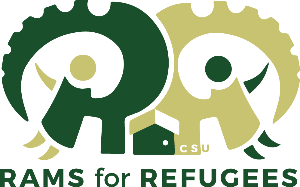 Client  Rams for Refugees, Colorado State University  Role  Designer  Discipline  Logo Mark  The Rams for Refugees is a club on Colorado State University's mission is to bring awareness to the refugee crisis in the world and to hopefully raise funds for a refugee camp throughout the year.  They were looking for a logo that included there campus colors; forest green and vegas gold. They wanted the logo give a sense of family and wanted me to include, horns, a house, CSU, the club name.