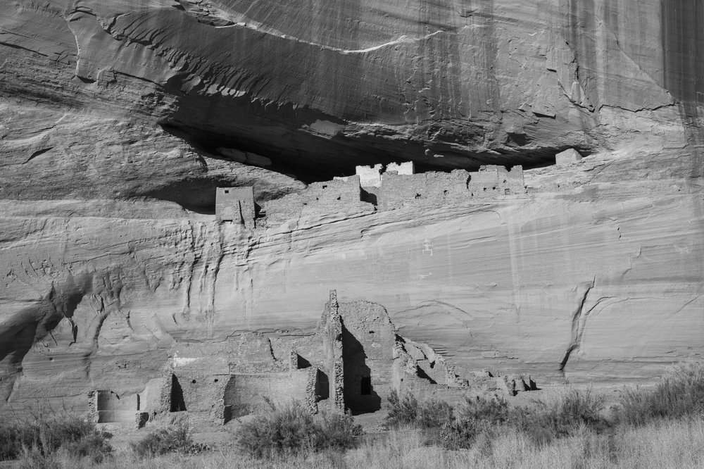 Whitehouse Ruins. Canyon De Chelly National Monument, Arizona.