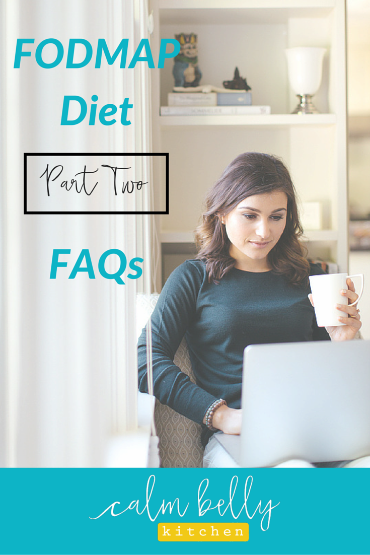 Get the answer the most asked question about the low FODMAP diet: What can I eat for a quick workday lunch? Packing an easy, no fuss lunch when you're doing the fodmap elimination diet can be a challenge. Click through to watch the video and read my simple, easy strategies.