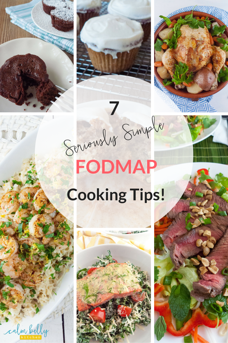 Click through to read the 7 coolest cooking tips and tricks straight from my new cookbook! Cooking is health meals everyday is hard, especially with dietary restrictions. Luckily, there are hacks, shortcuts and genius little tricks that even professional cooks use to make it work. Go to the blog and learn how to save time and cook low fodmap meals the quick and easy way!