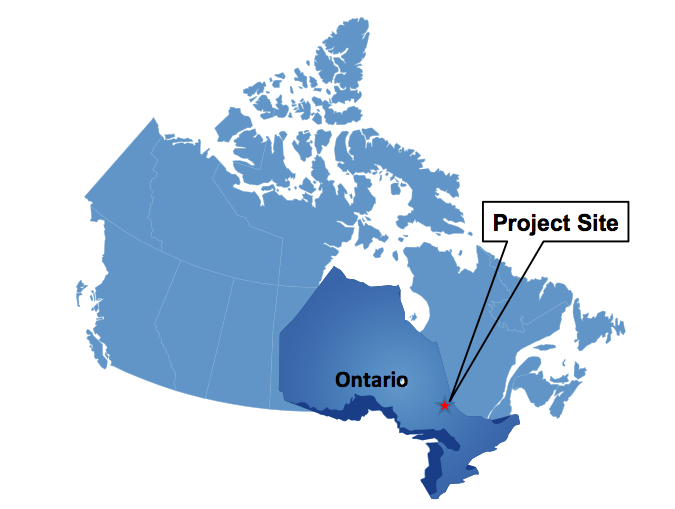 LOCATION OF THE canadian cobalt PROJECT IN the silver centre region of the cobalt mining camp ONTARIO, CANAda- APPROXIMATELY 420 KM NORTH OF TORONTO OR 370 KM NORTH-WEST OF OTTAWA.